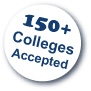 Over 150 Colleges Accepted